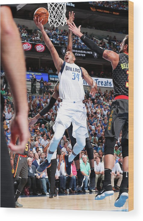 Nba Pro Basketball Wood Print featuring the photograph Devin Harris by Danny Bollinger