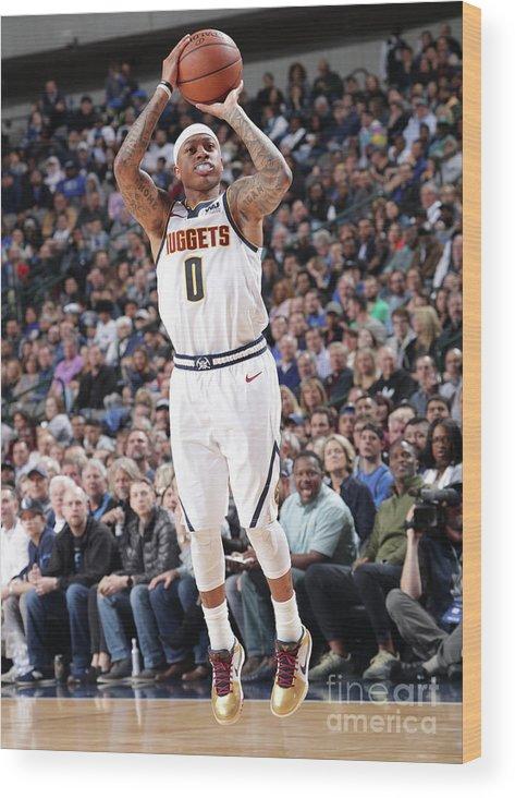 Nba Pro Basketball Wood Print featuring the photograph Isaiah Thomas by Glenn James