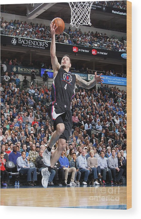 Nba Pro Basketball Wood Print featuring the photograph J.j. Redick by Danny Bollinger
