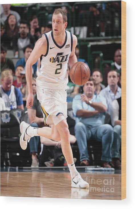 Sport Wood Print featuring the photograph Joe Ingles by Glenn James