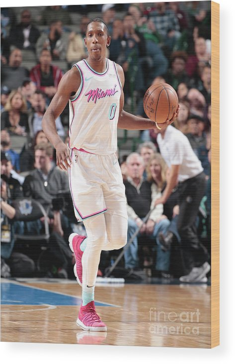 Nba Pro Basketball Wood Print featuring the photograph Josh Richardson by Glenn James