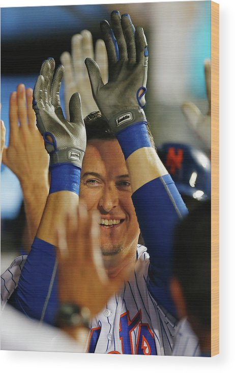 Ninth Inning Wood Print featuring the photograph Kelly Johnson by Rich Schultz
