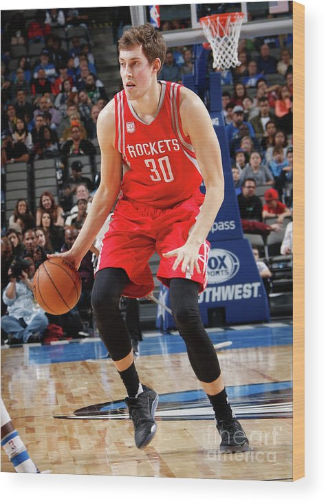 Nba Pro Basketball Wood Print featuring the photograph Kyle Wiltjer by Glenn James