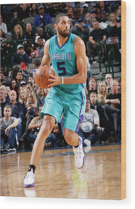 Nicolas Batum Wood Print featuring the photograph Nicolas Batum by Glenn James