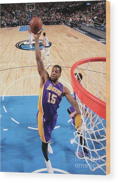 Nba Pro Basketball Wood Print featuring the photograph Thomas Robinson by Glenn James