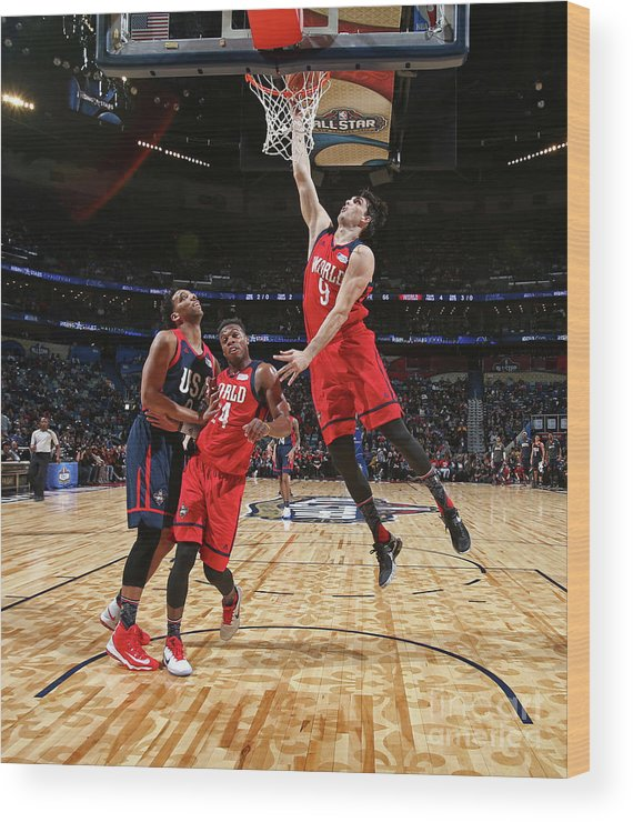 Event Wood Print featuring the photograph Bbva Compass Rising Stars Challenge 2017 by Nathaniel S. Butler