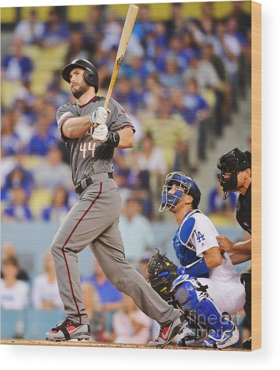 Game Two Wood Print featuring the photograph Paul Goldschmidt by Harry How