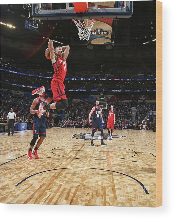 Event Wood Print featuring the photograph Dante Exum by Nathaniel S. Butler