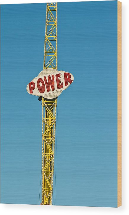 Fair Wood Print featuring the photograph Power by Phil Brown