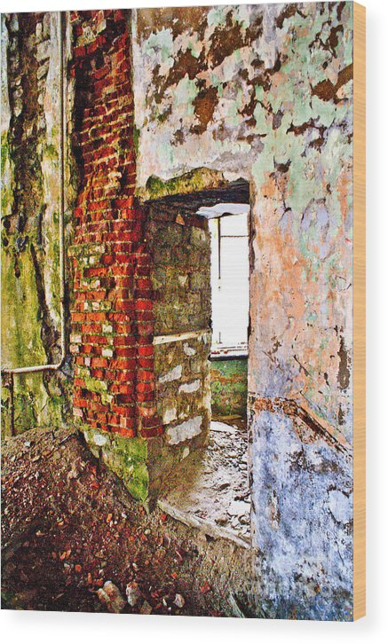 Wall Wood Print featuring the photograph It Is More Than Color Than Usually by Vadim Grabbe