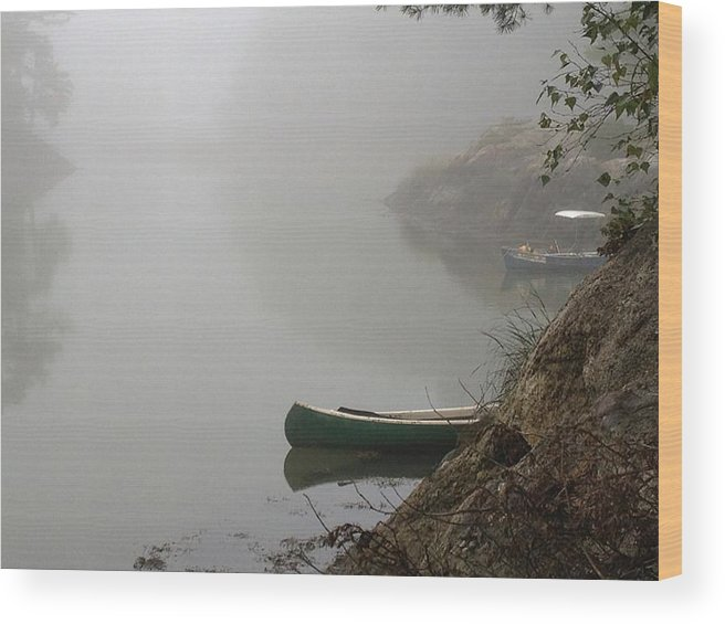 Wood Print featuring the photograph Maine Seascapes by Frank Roma