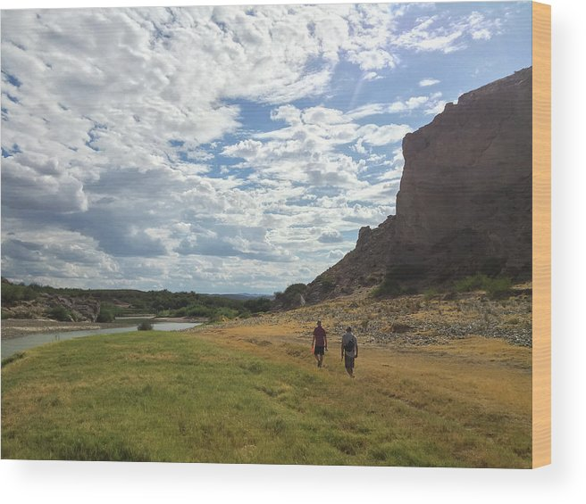 Gulf Coast States Wood Print featuring the photograph Exploring Big Bend National Park by Taylor Reilly