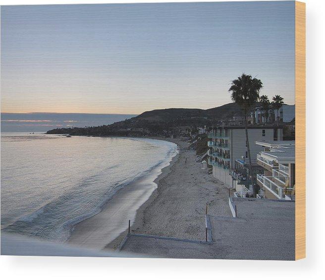 Beach Wood Print featuring the photograph Ca Beach - 121217 by DC Photographer