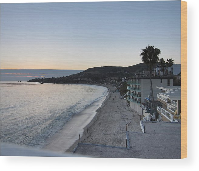 Beach Wood Print featuring the photograph Ca Beach - 121219 by DC Photographer
