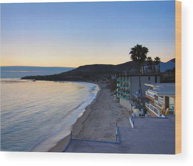 Beach Wood Print featuring the photograph Ca Beach - 121230 by DC Photographer