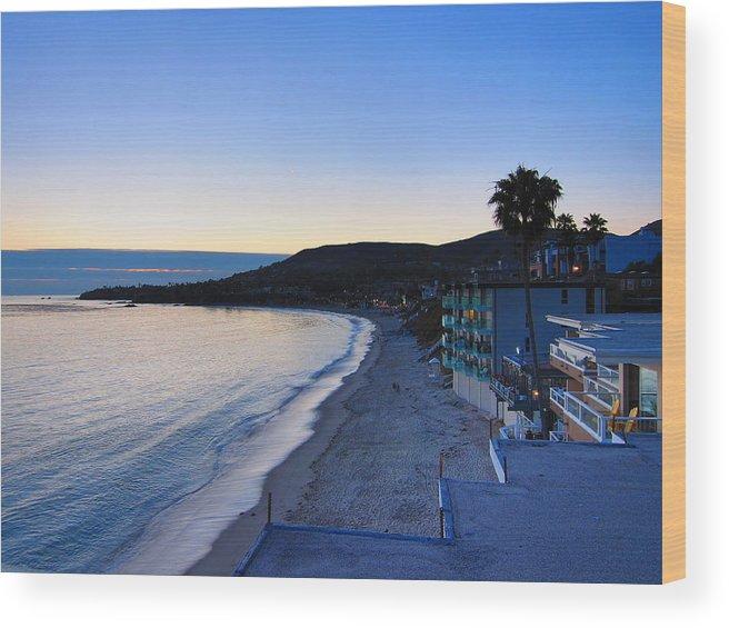 Beach Wood Print featuring the photograph Ca Beach - 121233 by DC Photographer