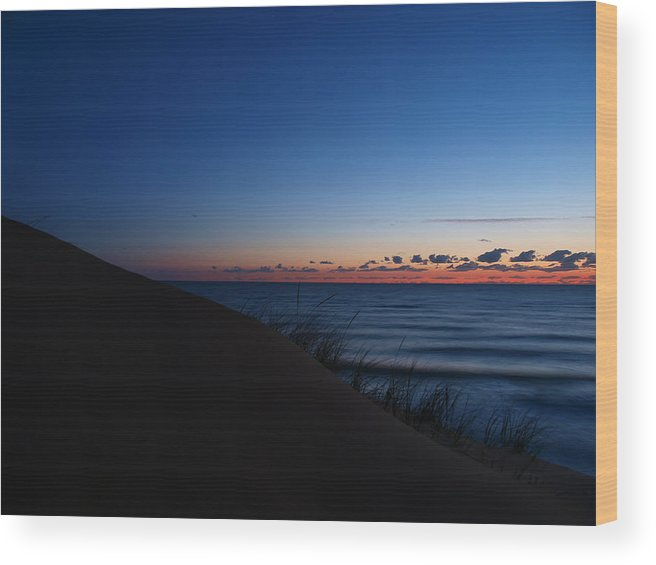 Cape Wood Print featuring the photograph Cape Light 1 by Ingrid Mathews