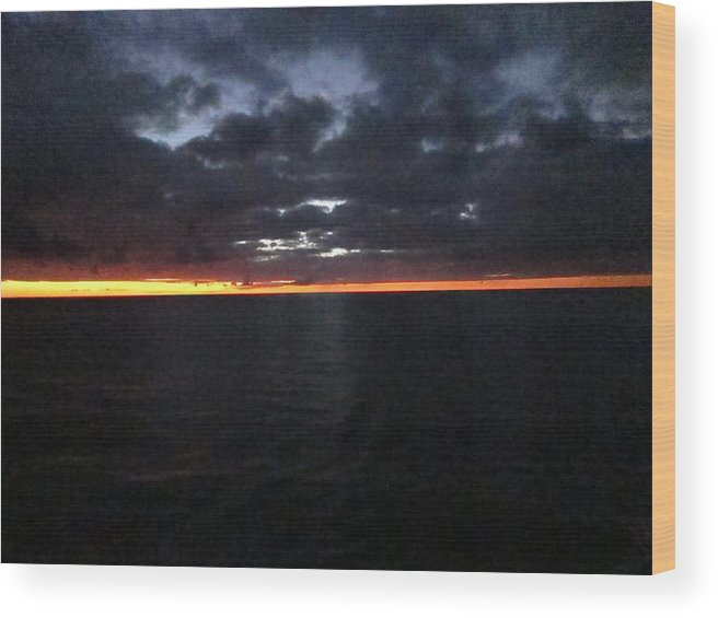Cruise Wood Print featuring the photograph Caribbean Cruise - On Board Ship - 1212103 by DC Photographer