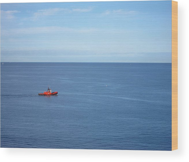 Cruise Wood Print featuring the photograph Caribbean Cruise - On Board Ship - 1212155 by DC Photographer