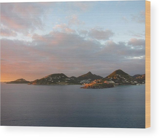 Cruise Wood Print featuring the photograph Caribbean Cruise - On Board Ship - 1212182 by DC Photographer