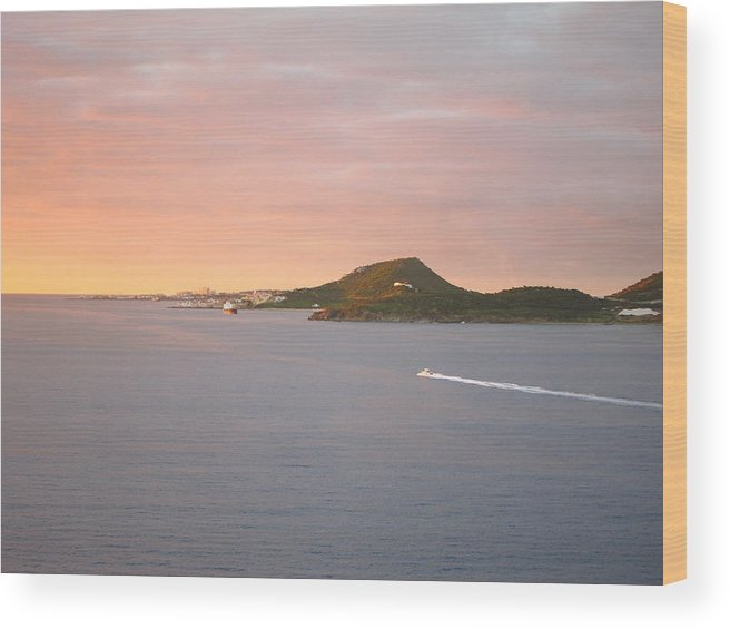 Cruise Wood Print featuring the photograph Caribbean Cruise - On Board Ship - 1212186 by DC Photographer