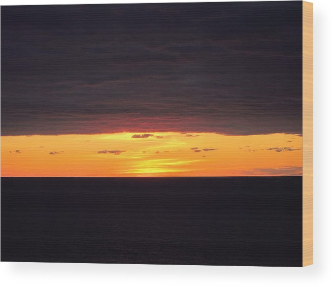 Cruise Wood Print featuring the photograph Caribbean Cruise - On Board Ship - 1212203 by DC Photographer