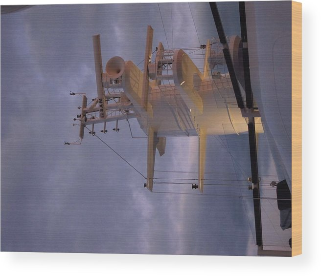 Cruise Wood Print featuring the photograph Caribbean Cruise - On Board Ship - 1212205 by DC Photographer