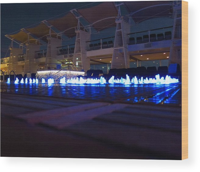 Cruise Wood Print featuring the photograph Caribbean Cruise - On Board Ship - 121232 by DC Photographer