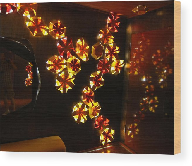 Cruise Wood Print featuring the photograph Caribbean Cruise - On Board Ship - 121243 by DC Photographer