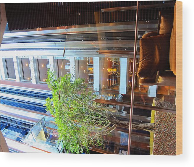 Cruise Wood Print featuring the photograph Caribbean Cruise - On Board Ship - 121294 by DC Photographer