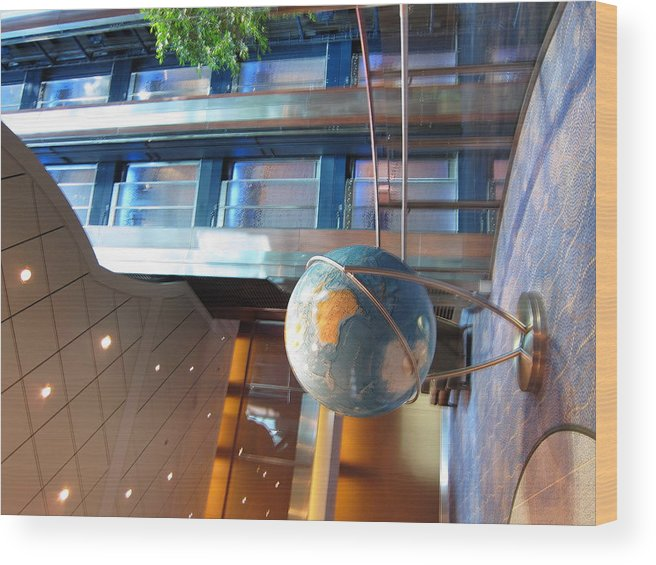 Cruise Wood Print featuring the photograph Caribbean Cruise - On Board Ship - 121295 by DC Photographer