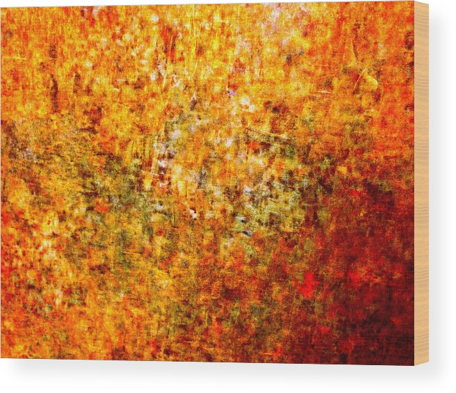 Abstract Wood Print featuring the photograph Inchoate Dreams II by Aurelio Zucco