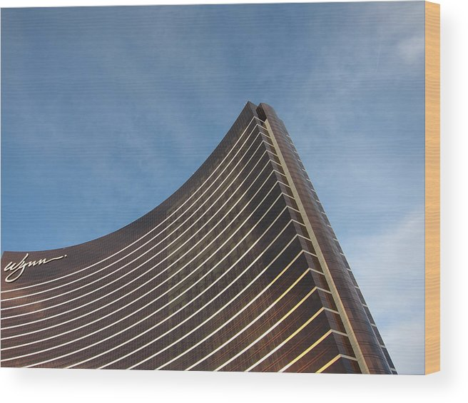 Las Wood Print featuring the photograph Las Vegas - Wynn Casino - 121210 by DC Photographer