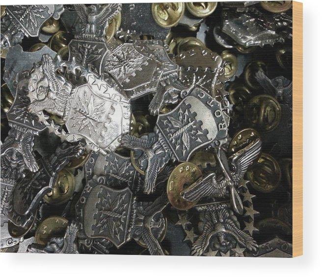 Rotc Wood Print featuring the photograph More Than Just Pot Metal by Caryl J Bohn