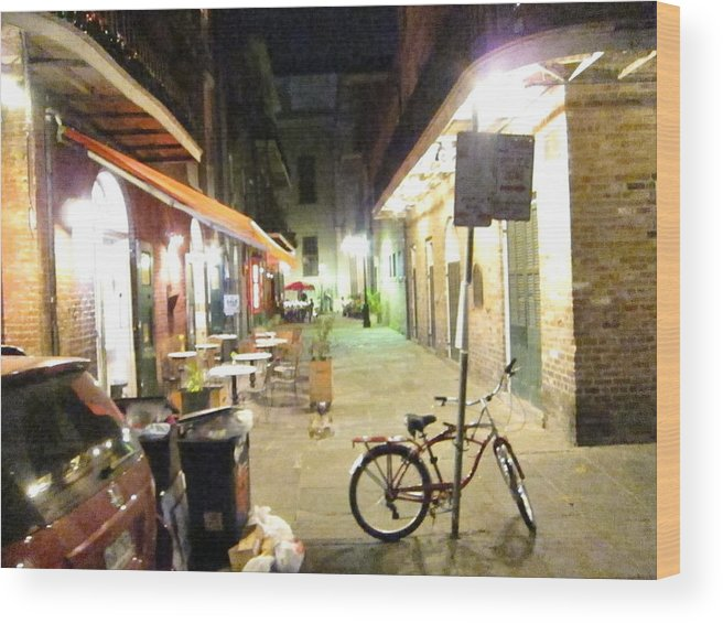 New Wood Print featuring the photograph New Orleans - City At Night - 121216 by DC Photographer