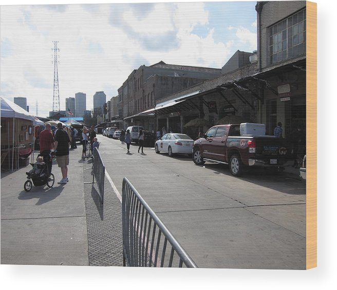 New Wood Print featuring the photograph New Orleans - Seen On The Streets - 121213 by DC Photographer