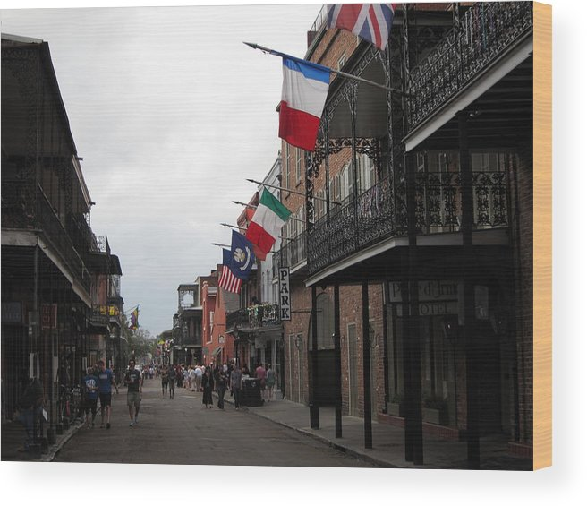 New Wood Print featuring the photograph New Orleans - Seen On The Streets - 121250 by DC Photographer
