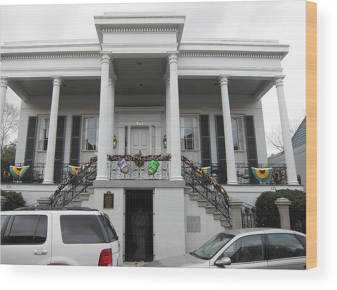 New Wood Print featuring the photograph New Orleans - Seen On The Streets - 121253 by DC Photographer