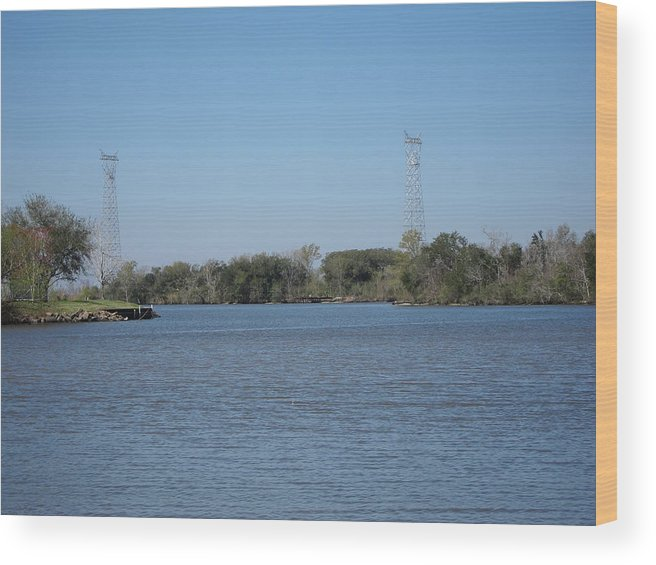 New Wood Print featuring the photograph New Orleans - Swamp Boat Ride - 121223 by DC Photographer