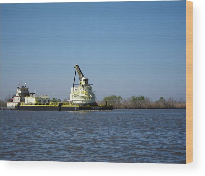 New Wood Print featuring the photograph New Orleans - Swamp Boat Ride - 121230 by DC Photographer
