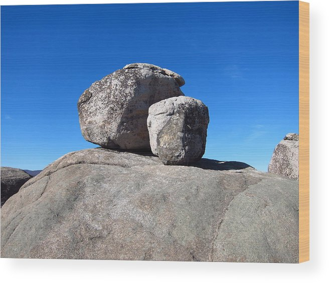 Old Wood Print featuring the photograph Old Rag Hiking Trail - 121239 by DC Photographer