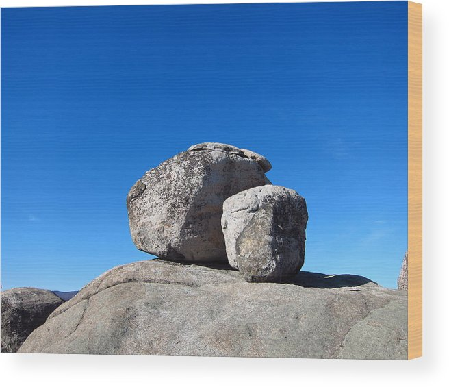 Old Wood Print featuring the photograph Old Rag Hiking Trail - 121240 by DC Photographer