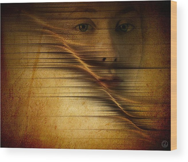 Woman Wood Print featuring the digital art Waves Of Change by Gun Legler