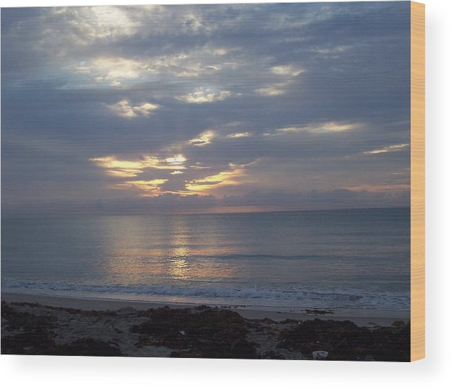 Sunrise Wood Print featuring the photograph Gorgeous by Sheila Silverstein