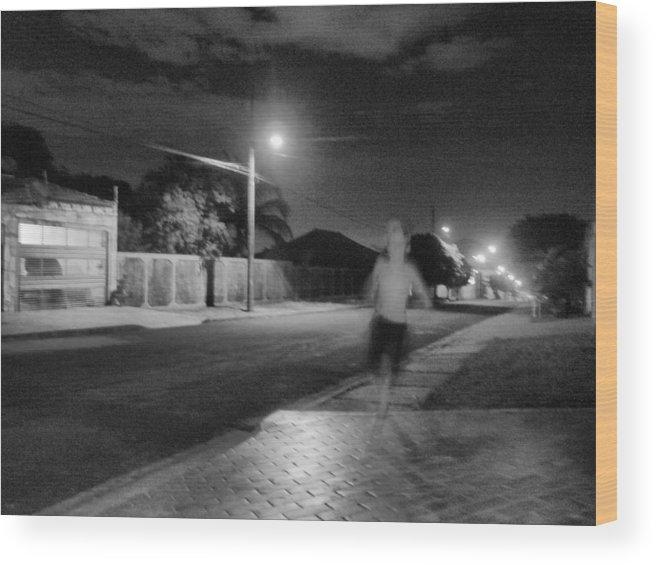 Photo Wood Print featuring the photograph Pixote by Beto Machado