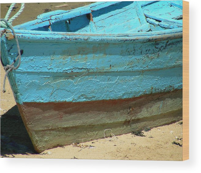 Boats Wood Print featuring the photograph Boats by Jean Wolfrum