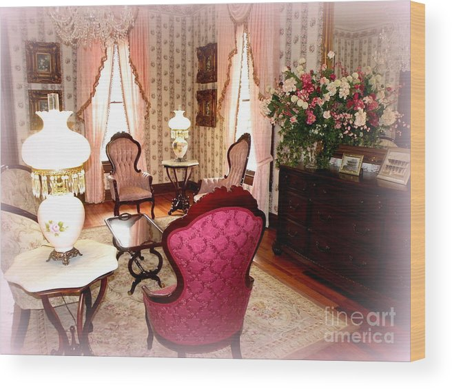 Victorian Era Wood Print featuring the photograph A Glimpse Into Yesteryear by Kathy White