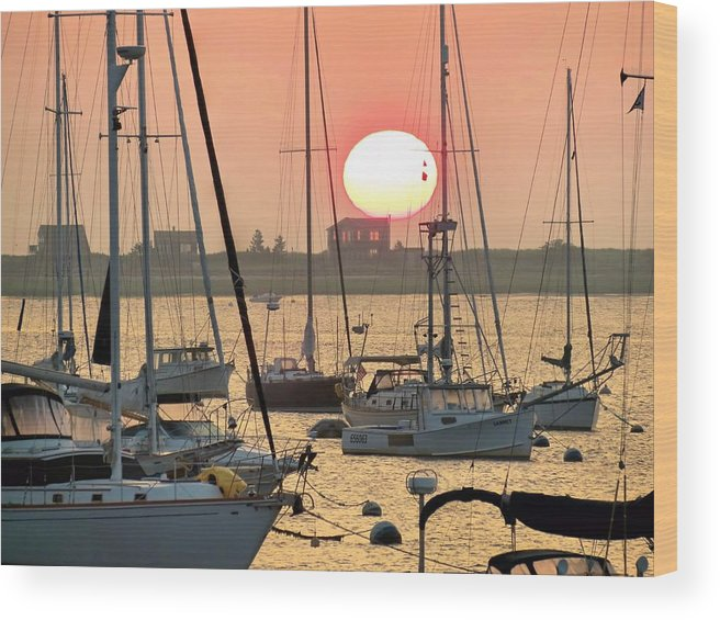 Morning Wood Print featuring the photograph Break Of Day by Janice Drew