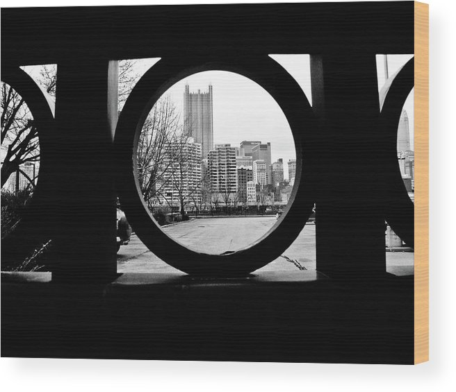 Circumference Wood Print featuring the photograph Circumference by Jessica Brawley