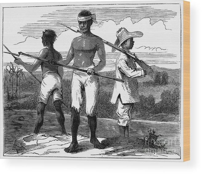 1869 Wood Print featuring the photograph Cuba: Ten Years War by Granger